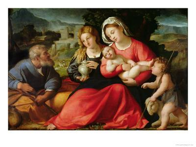 The Holy Family, c.1508-12
