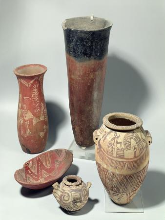 Selection of Vases, Naqada I/Ii Period, 4000-3100 BC