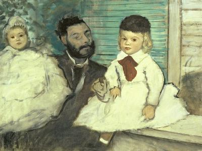 Comte Le Pic and His Sons