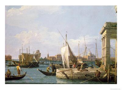 The Punta Della Dogana, 1730