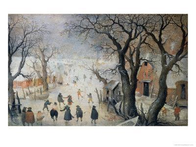 Winter Scene, c.1610