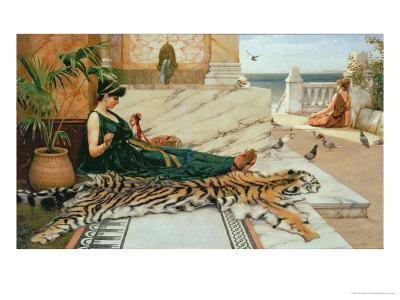 The Tiger Skin, c.1895