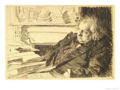 Portrait of Ernest Renan, 1892