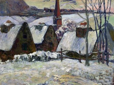 Breton Village under Snow, 1894