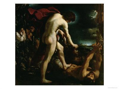 Apollo Flaying Marsyas, c.1618