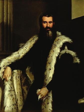 Portrait of a Man in a Fur Coat, c.1566