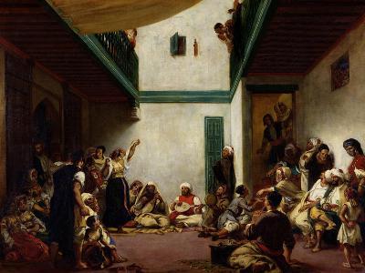 Jewish Wedding in Morocco, 1841