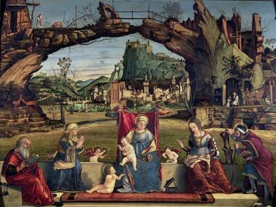 Sacra Conversazione, c.1500