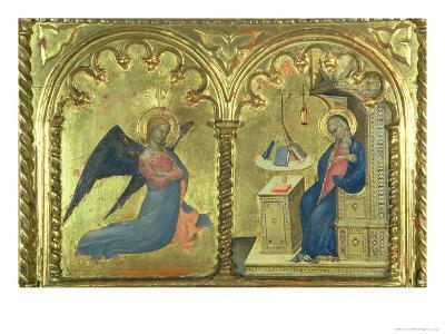 The Annunciation, Polytych Depicting the Lives of the Saints, the Salone Del II Piano, 1353-63