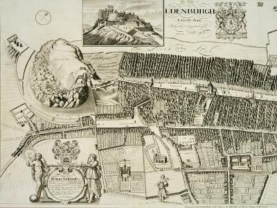 Plan of Edinburgh, Pub. by John Smith
