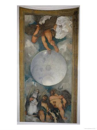 Allegory of the Elements, the Universe and Signs of the Zodiac, 1597