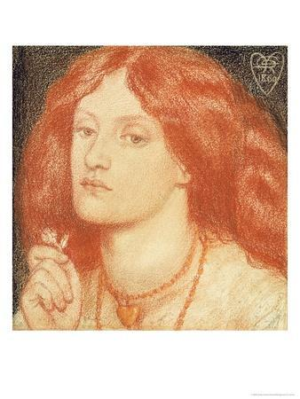 Portrait of Elizabeth Siddal