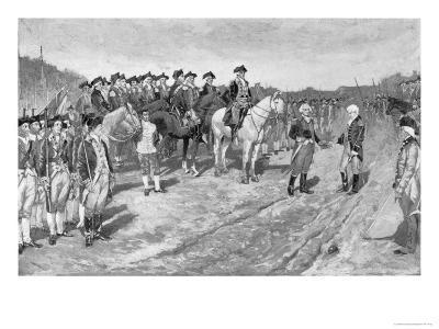 Surrender of Cornwallis at Yorktown, The Surrender of Cornwallis, c.1881