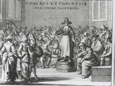 Male and Female Quakers at Their Assembly