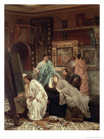 Collector of Pictures at the Time of Augustus, 1867