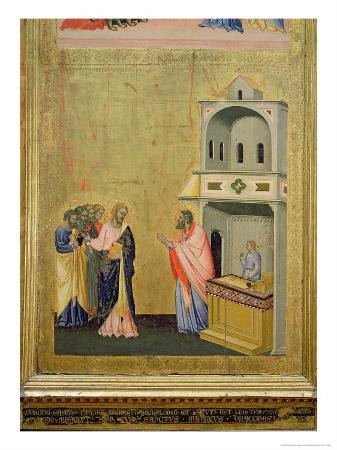 The Calling of St. Matthew, from the Altarpiece of St. Matthew and Scenes from His Life, c.1367-70