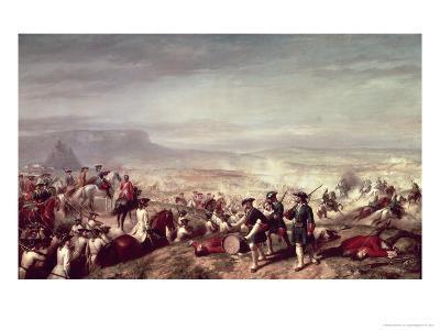 Battle of Almansa Between the Troops of Philip V