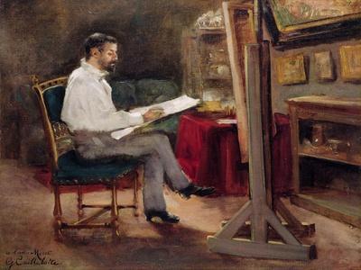 The Artist Morot in His Studio, c.1874