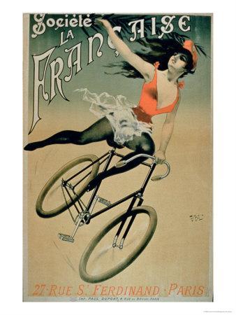 Poster Advertising Societe La Francaise, Paris