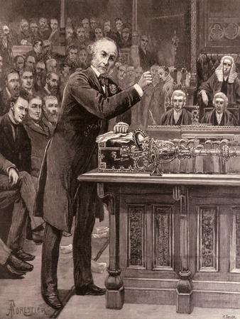Mr. Gladstone: His Scheme For the Government of Ireland, The Illustrated London News, 1886