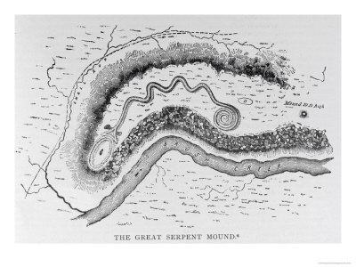 Great Serpent Mound, Locust Grove, Ohio, Narrative and Critical History of America