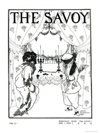 Title Page from The Savoy No. 1 and 2, 1896