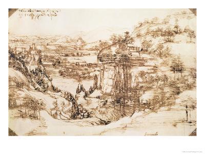 Arno Landscape, 5th August, 1473