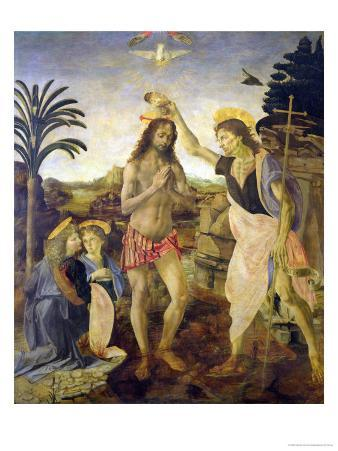 The Baptism of Christ by John the Baptist, c.1475