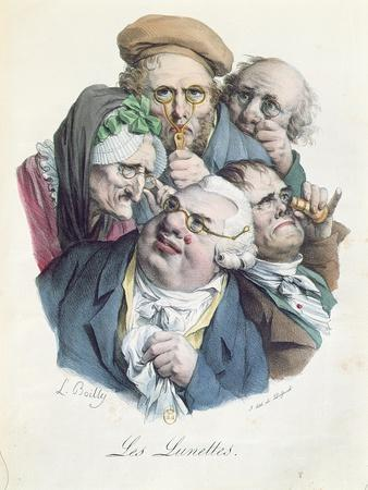 The Glasses, Engraved by Francois Seraphin Delpech