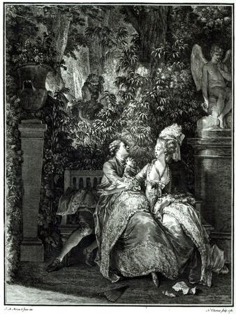 Yes or No  1781, Engraved by N. Thomas