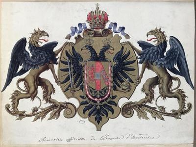 The Coat of Arms of the Austrian Empire, Before 1867