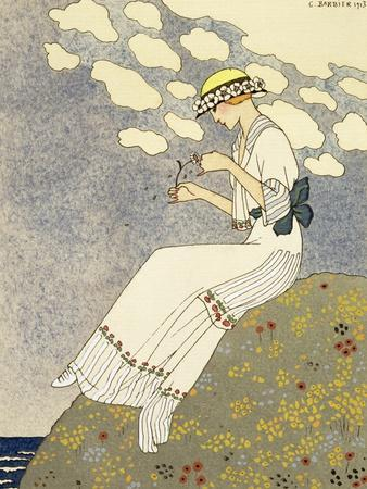 Un Peu, Design For a Country Dress by Paquin, c.1913