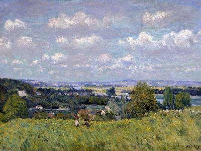 The Valley of the Seine at Saint-Cloud, 1875