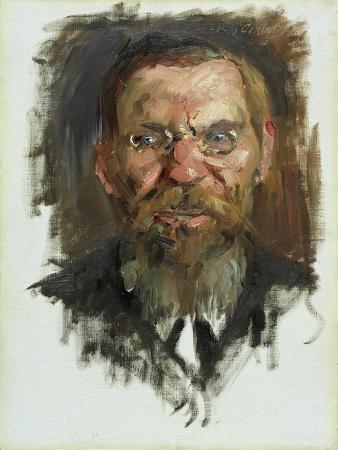 Study For a Portrait of Professor Dr. Eduard Meyer, 1910