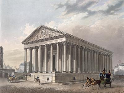 Exterior View of the Madeleine, Paris