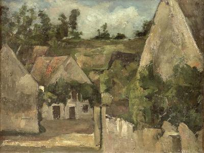 Crossroads at the Rue Remy, Auvers, c.1872