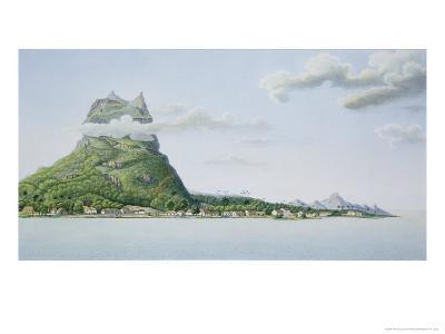 View of the Island of Bora Bora, from Voyage Autour du Monde