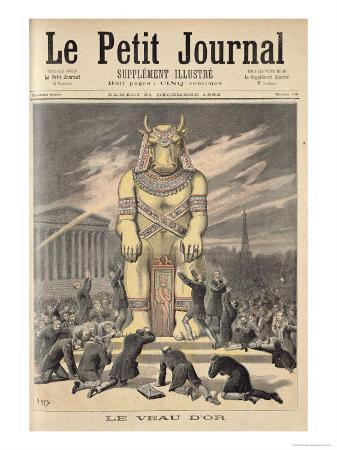 The Golden Calf, from Le Petit Journal, 31st December 1892