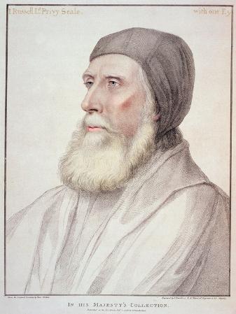 Portrait of John Russell 1st Earl of Bedford
