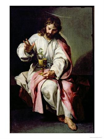 St. John the Evangelist and the Poisoned Cup, 1636-38