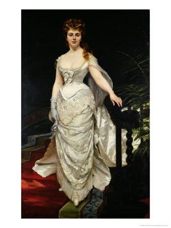 Portrait of Mademoiselle X, 1873