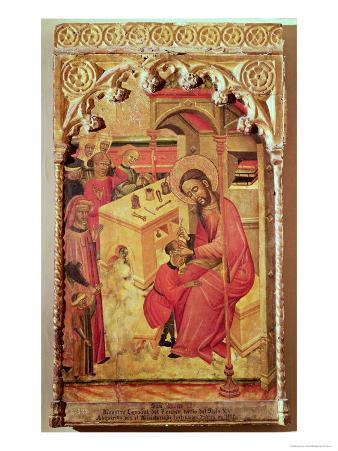 St. Luke Operating on a Man's Head, c.1400-30