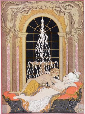 Illustration from Les Liaisons Dangereuses by Pierre Choderlos de Laclos