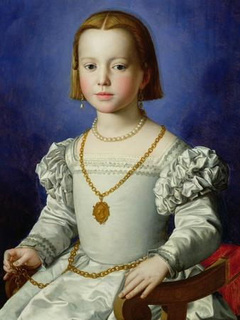 Portrait of Bia De' Medici, c.1542