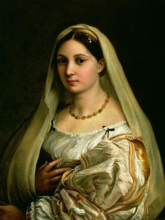 The Veiled Woman, or La Donna Velata, c.1516