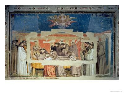 The Death of St. Francis, from the Bardi Chapel