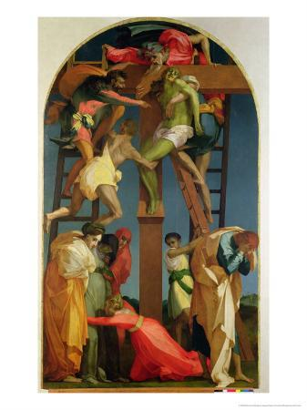 The Descent from the Cross, 1521