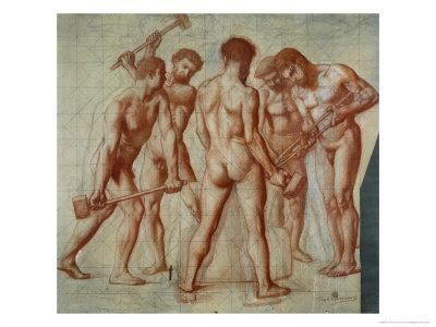 The Forgers, Study For Allegorie du Travail