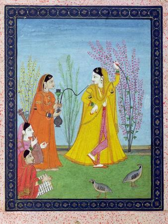 The Beginning of Spring, from Chamba, Himachal Pradesh, c.1800