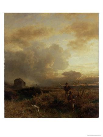 Clearing Thunderstorm in the Countryside, 1857